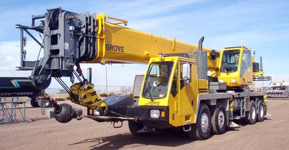 Jasa pengiriman mobile crane