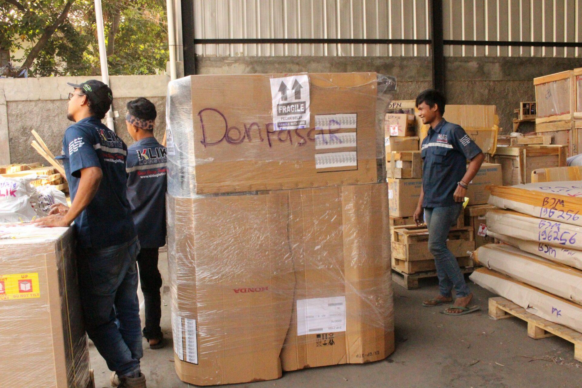 cargo murah ke denpasar