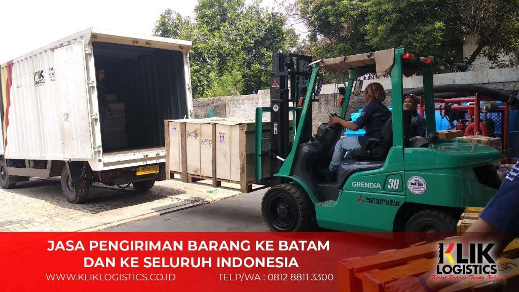 Pengiriman Barang Container LCL Murah Ke Batam - Klik Logistics