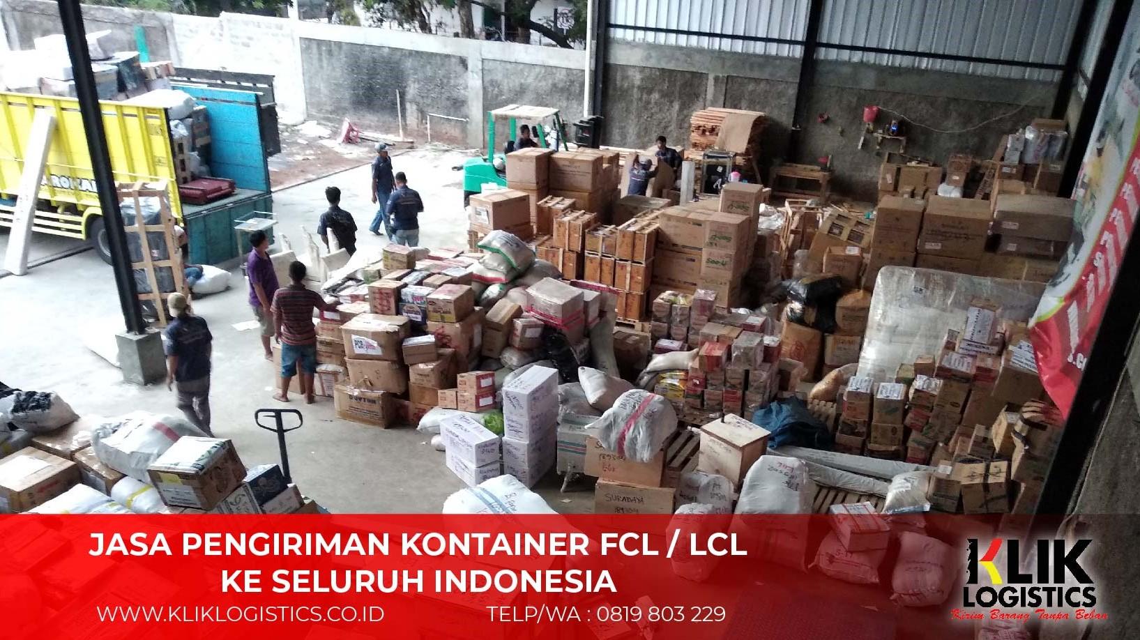 Jasa Pengiriman Cargo Kontainer FCL Murah Ke Batam
