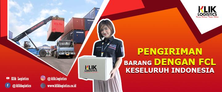 layanan pengiriman dengan FCL
